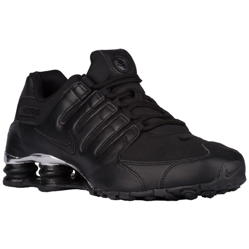 ... Nike Shox NZ - Men\u0026#39;s - Black / Silver