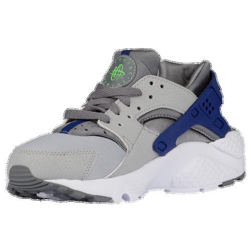 Nike Huarache Green And Blue