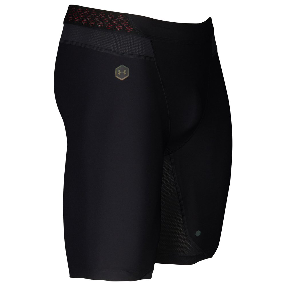 Under Armour Rush Compression 9 Shorts - Mens / Black/Black