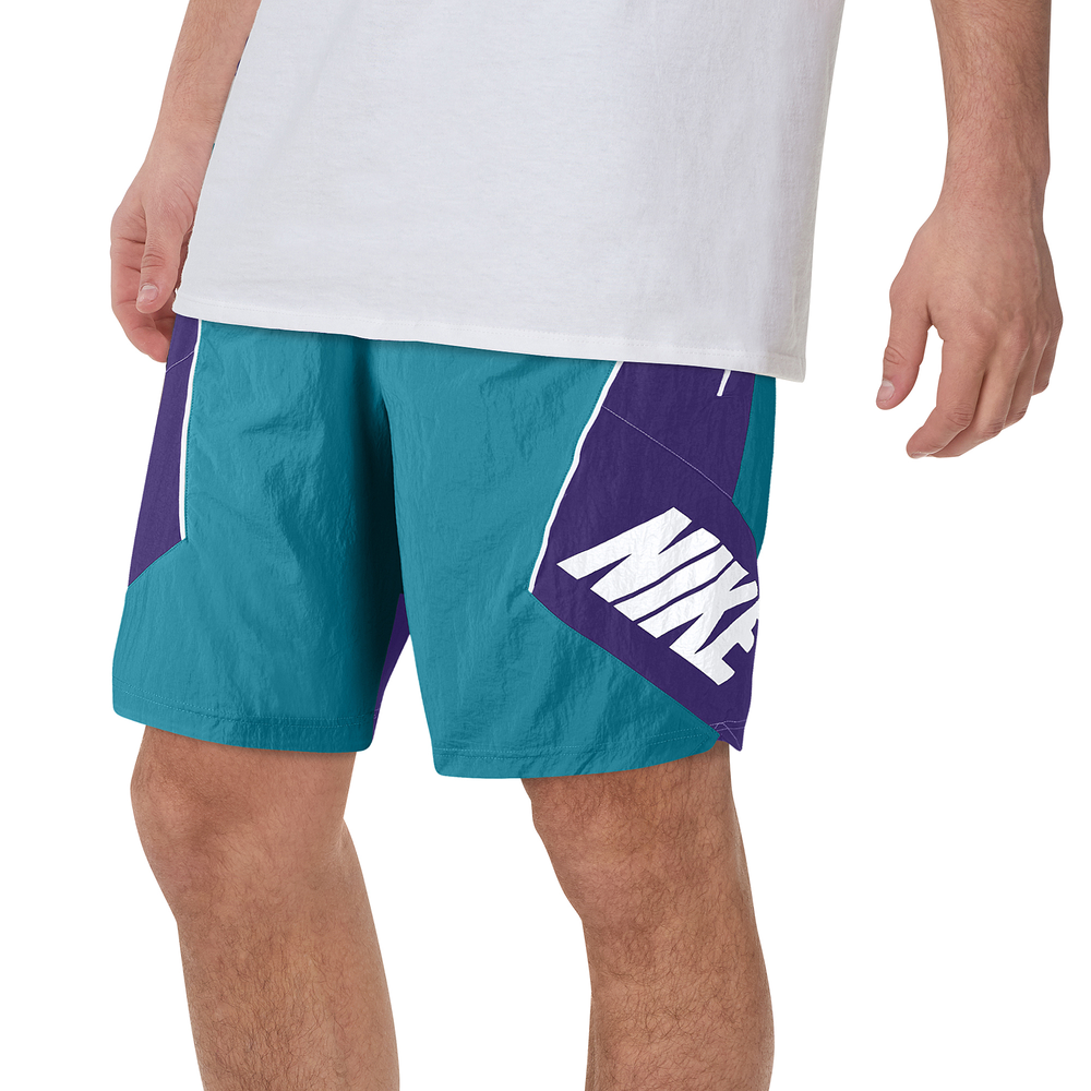Nike Throwback Shorts - Mens / Rapid Teal/Field Purple/White