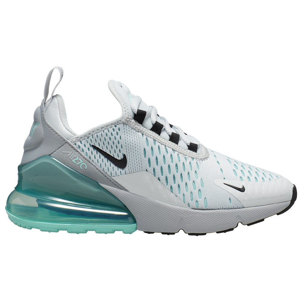 Nike Air Max 270 - Girls Grade School / Pure Platinum/Black/Wolf Grey