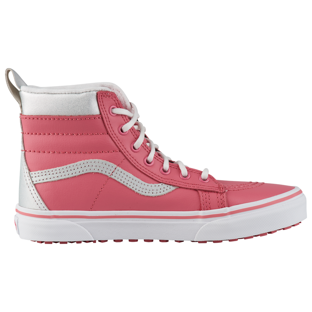 Vans Sk8-Hi MTE - Girls Grade School / True White/Desert Rose | Metallic