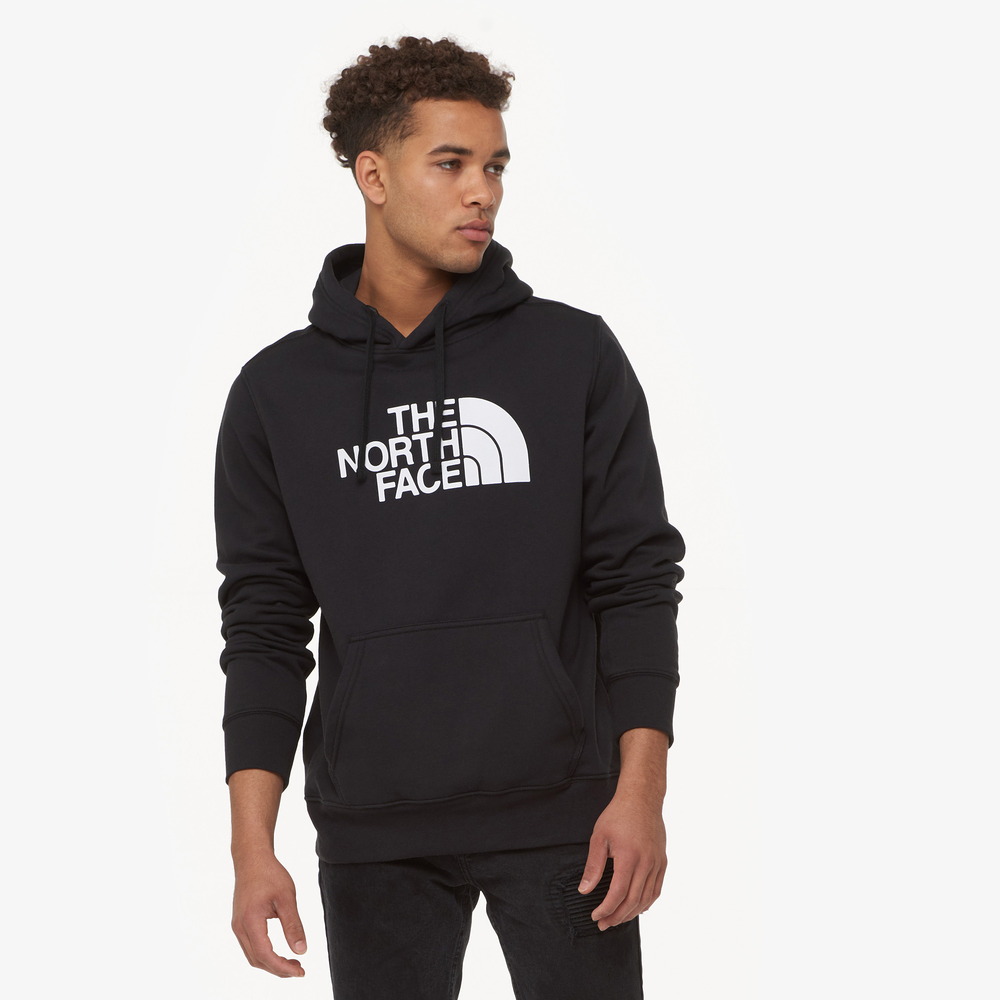 The North Face Half Dome Pullover Hoodie - Mens / Tnf Black/Tnf White