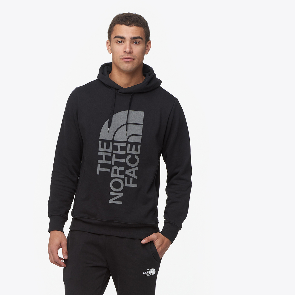 The North Face Trivert Pullover Hoodie - Mens / Tnf Black/Black Reflective | Past Season