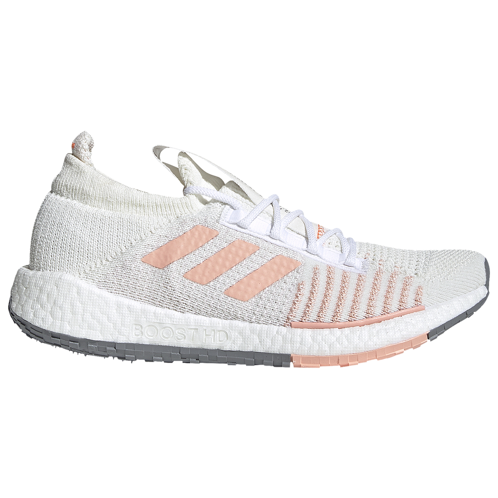 Adidas adidas Pulseboost HD - Womens / White/Glow Pink/Orchid Tint