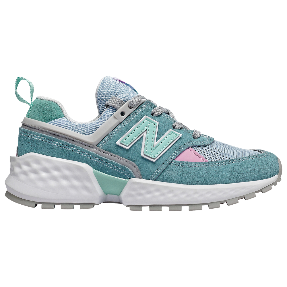 New Balance 574 Sport V2 - Girls Grade School / Blue Fog/Light Tidepool