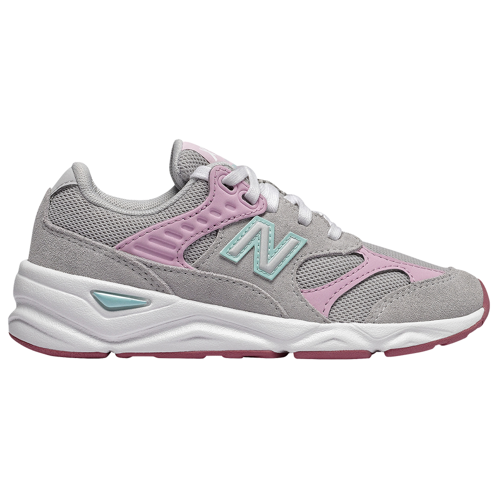 New Balance X90 - Girls Grade School / Summer Fog/Mineral Rose
