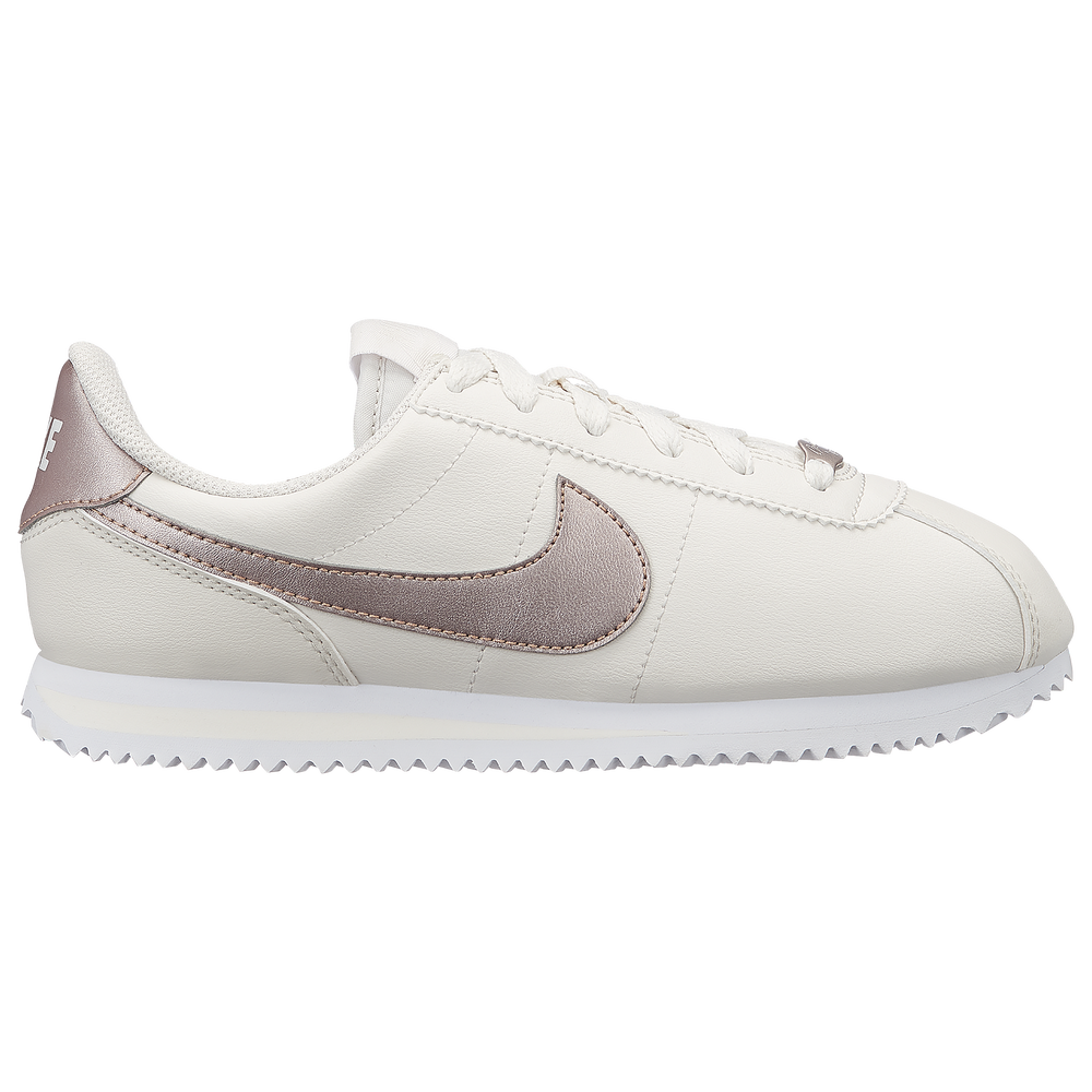 Nike Cortez - Girls Grade School / Phantom/Met Red Bronze/White | Essentials Plus