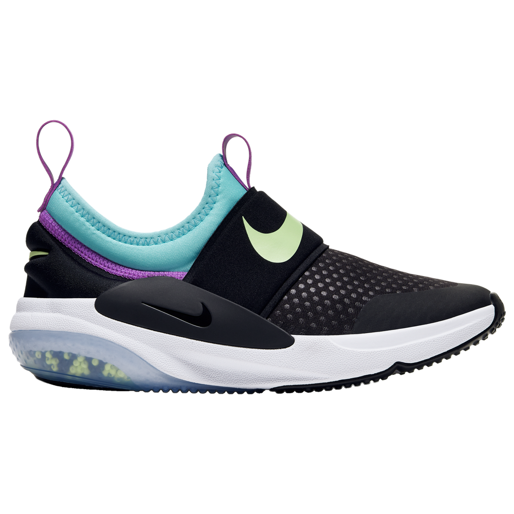 Nike Joyride Nova - Girls Grade School / Black/Barely Volt/Aurora Green