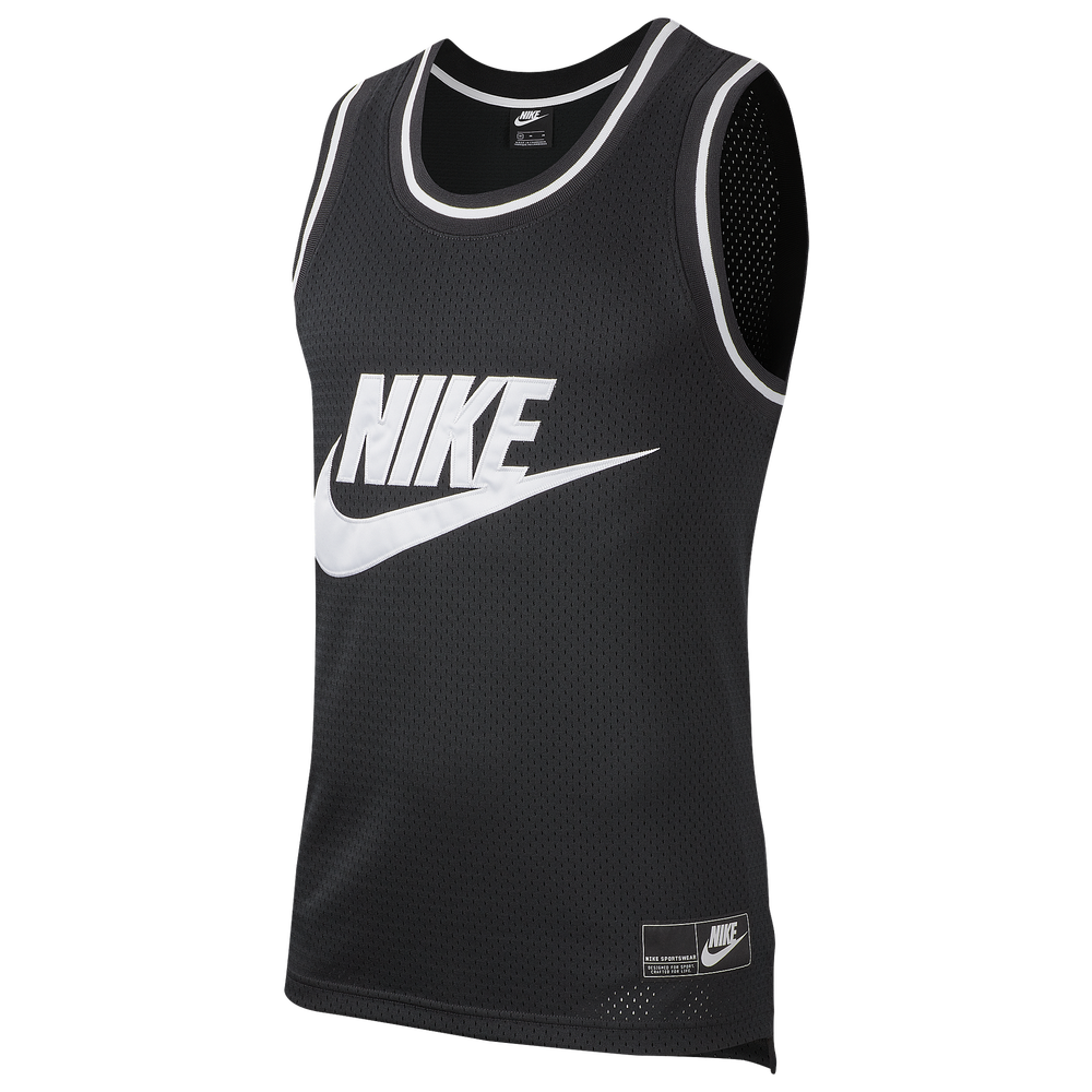 Nike Statement Mesh Tank - Mens / Black/White