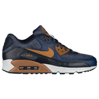 Nike Air Max 90 - Men's - Navy / Brown