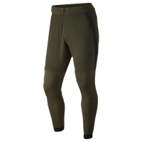 Nike Tech Fleece Pant 2 - Men's - Olive Green / Olive Green