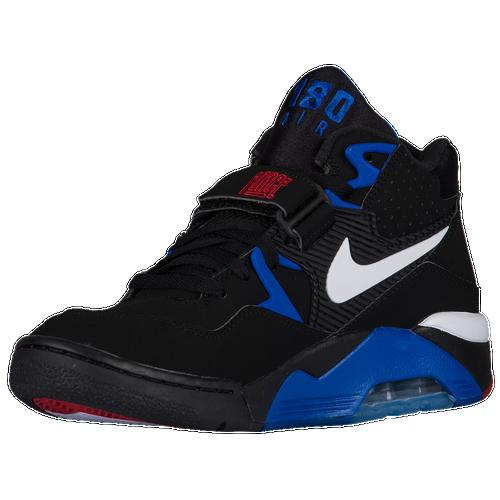 nike air force 180 men 39 s basketball shoes black sport royal varsity red true white. Black Bedroom Furniture Sets. Home Design Ideas