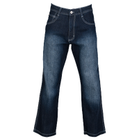 Southpole Relaxed Crosshatch Denim Jeans - Men's - Navy / Navy