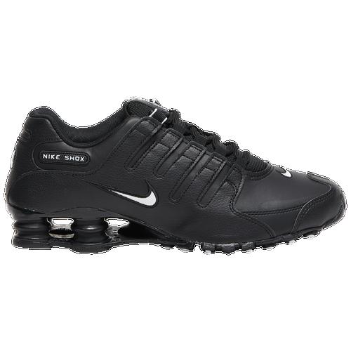 Nike Shox NZ - Men\u0026#39;s - Black / White