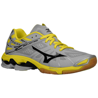 Mizuno Wave Lightning Z - Women's - Grey / Yellow