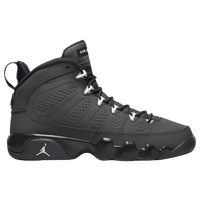 Jordan Retro 9 - Boys' Grade School - Grey / Black