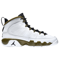 Jordan Retro 9 - Boys' Grade School - White / Black