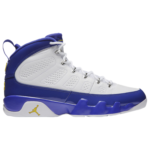 sale retailer 23fca 4086e ... jordan retro 9 mens basketball shoes white tour yellow concord .