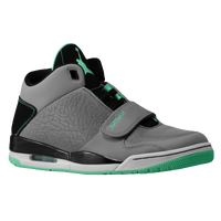 Jordan Flight Club 90's - Men's - Grey / Light Green