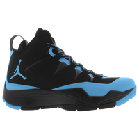 Jordan Super.Fly II PO - Boys' Grade School - Black / Light Blue