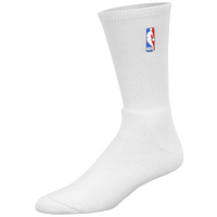 For Bare Feet NBA On Court Speed Crew Socks - Men's - NBA League Gear - All White / White