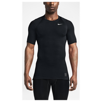 Nike Pro Hypercool Compression S/S Top - Men's - All Black / Black