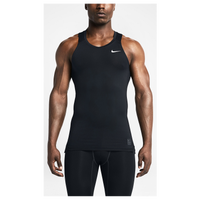 Nike Pro Cool Compression Tank - Men's - All Black / Black