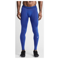 Nike Pro Hypercool Compression Tights - Men's - Blue / Navy
