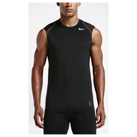 Nike Pro Hypercool Fitted Sleeveless Top - Men's - Black / Grey