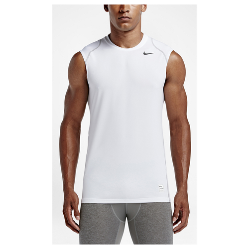 Nike pro hypercool fitted sleeveless top men 39 s for Nike men s pro cool sleeveless shirt