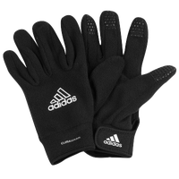 adidas ClimaWarm Fieldplayer Gloves - Men's - Black / White