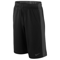 Nike Fly Shorts - Boys' Grade School - Black / Grey