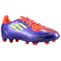 adidas F30 TRX FG - Boys' Grade School - Purple / Light Green