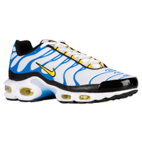Nike Air Max Plus - Men's - White / Yellow