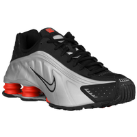 Nike Shox R4 - Men's - White / Orange