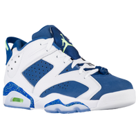 Jordan Retro 6 Low - Men's - White / Light Green