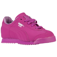 PUMA Roma - Girls' Toddler - Pink / White
