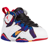 Jordan Retro 7 - Boys' Toddler - White / Red