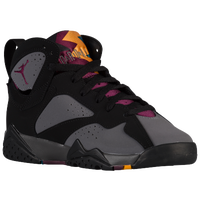 Jordan Retro 7 - Boys' Grade School - Black / Maroon
