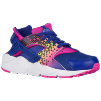 Nike Huarache Run - Girls' Grade School - Purple / Pink