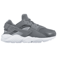 Nike Huarache Run - Boys' Preschool - Grey / White