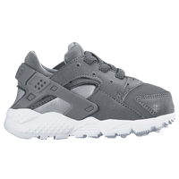Nike Huarache Run - Boys' Toddler - Grey / White