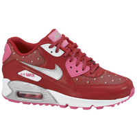 Nike Air Max 90 - Girls' Grade School - Red / Pink