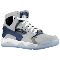 Nike Air Flight Huarache - Men's - Grey / Navy