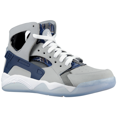 Purchase Nike Air Huarache Mens - Product Model:233408 Sku:05005001 Nike Air Flight Huarache Mens Grey Navy  Cm 3dsearchbasketballshoes