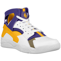 Nike Air Flight Huarache - Men's - White / Purple