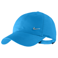 Nike Metal Swoosh Cap - Boys' Grade School - Light Blue / Light Blue