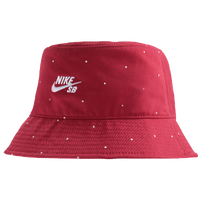 Nike SB Polka Dot Bucket Hat - Men's - Red / White
