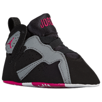 Jordan Retro 7 - Girls' Infant - Black / Pink